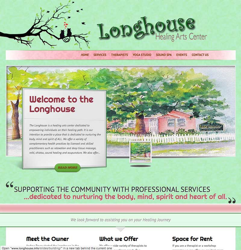 Longhouse Healing Arts Center