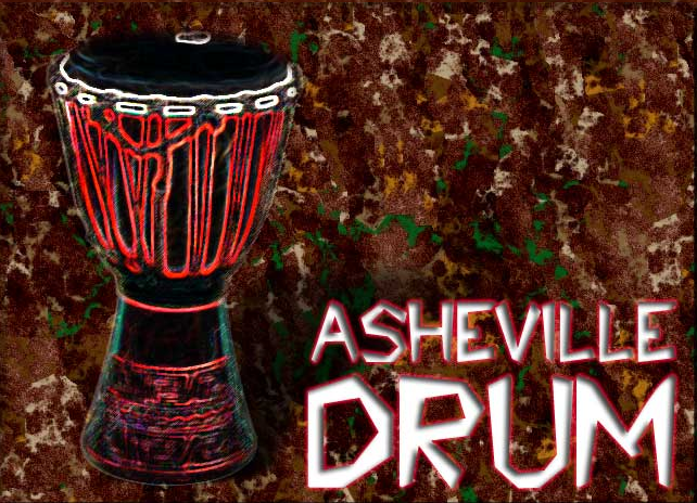 Asheville Drum Website Logo