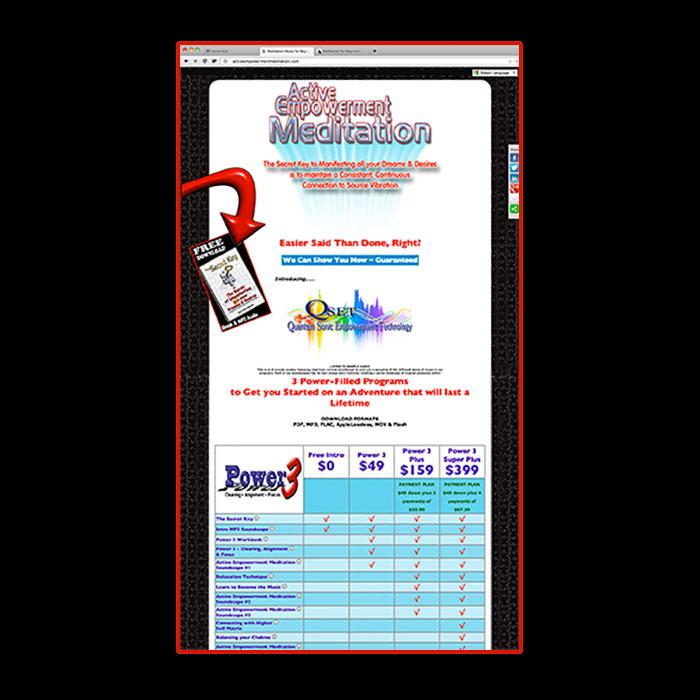 AEM Sales Page