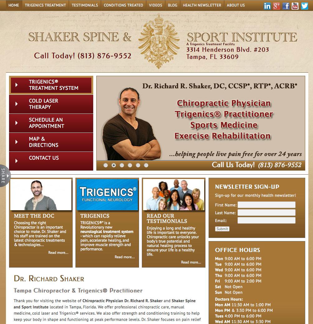 Dr. Shaker Website