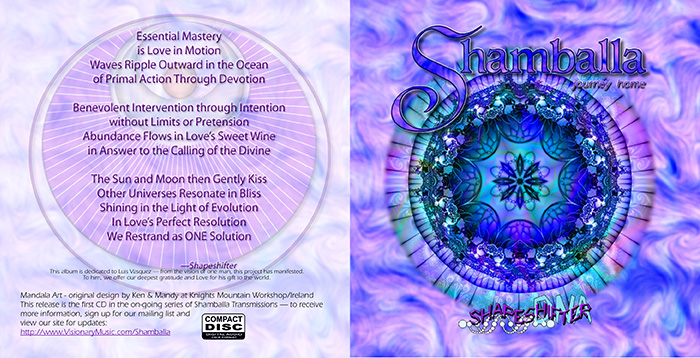 Shamballa CD Cover